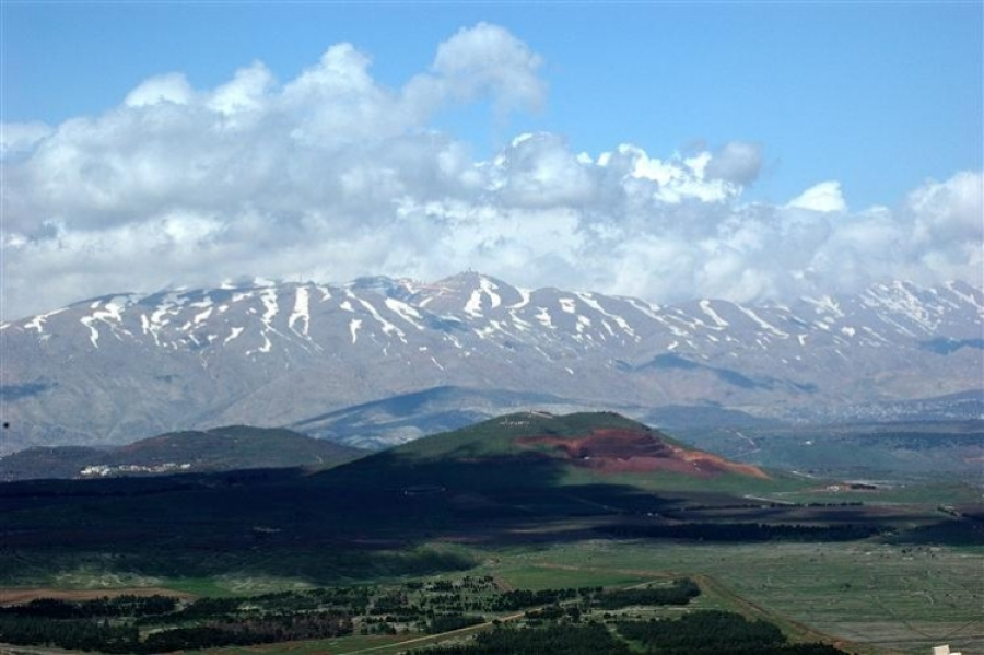 View of the Golan Heights